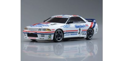R/C EP TOURING CAR Reebok SKYLINE No.3 1991 JTC Body/Chassis Set (Full Ball Bearing Specifications) 30580RB