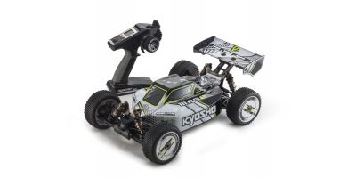 INFERNO MP9e TKI T1 (White/Black) 1/8 EP(BL) 4WD Buggy Readyset RTR 30874T1