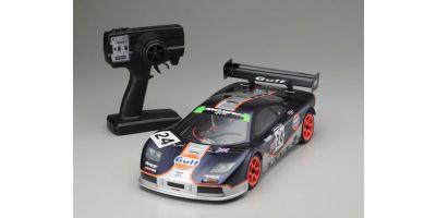 電動 4WD Touring Car McLaren F1 GTR Gulf Racing LM 1995 w/PERFEX KT-100 30905J