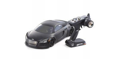 EP FAZER VE Audi R8 Matt Black 1/10 EP(BL) 4WD Readyset RTR 30916J