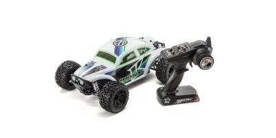 MAD BUG VE (White) 1/10 EP 4WD Buggy Readyset RTR 30994T1