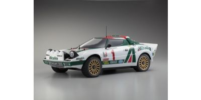 R/C 18 Engine Powered 4WD Rally Car DRX Lancia Stratos WRC  31044K