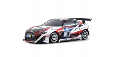 V-ONE SR GAZOO Racing TOYOTA 86 リコイル付 1/10 GP 4WD キット 31589