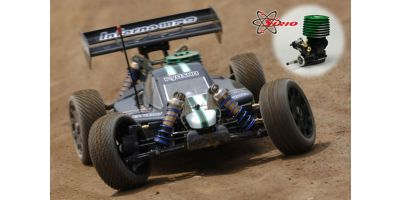 GP 4WD RACING BUGGY Inferno MP9 TEAM KYOSHO INTERNATIONAL Kit with SIRIO S21 BK Evo.4 Engine 31782S21
