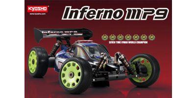 1/8 GP 4WD KIT インファーノ MP9  31783