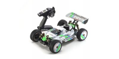 INFERNO MP9 TKI3 T1 (White) 1/8 GP 4WD Buggy Readyset RTR 31889T1