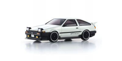 MINI-Z MA-020VE PRO +D Evo. Toyota SPRINTER TRUENO GTV AE86 White (MHS/ASF Compatible 2.4GHz System) Body/Chassis Set 32172GTV