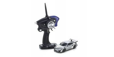 ミニッツレーサースポーツ2 MR-03シリーズ ポルシェ 911 GT3 RS シルバー レディセット 32231S