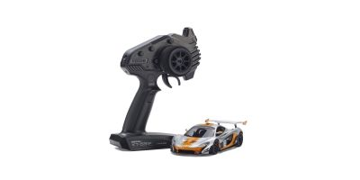 MINI-Z RWD McLaren P1™ GTR Silver/Orange Readyset RTR 32324SO