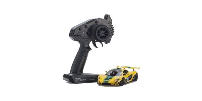 MINI-Z RWD McLaren P1™ GTR Yellow/Green Readyset RTR 32324YG