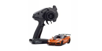MINI-Z RWD Series Ready Set Chevrolet Corvette ZR1 Sebring Orange (with LED) 32334OR
