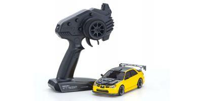 MINI-Z AWD SUBARU IMPREZA with Aero Kit and CFRP hood Metallic Yellow 32620MY