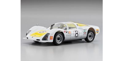 R/C EP Touring Car Porsche906 #8 1967 JAPAN GP 32714T