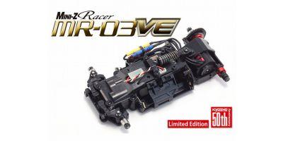 MINI-Z Racer ASF2.4GHz ブラシレスモーター MR-03VE 50th アニバーサリー シャシーセット ジャイロ付 32761G