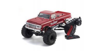 MAD CRUSHER 1/8 GP 4WD Monster Truck Readyset RTR 33153