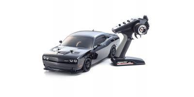 EPフェーザー VEi ダッジ チャレンジャー2015ヘルキャット ブラック 1/10 4WD レディセット 34051T2