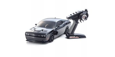 EP FAZER VEi Dodge SRT Challenger 2015 HELLCAT Black 1/10 EP(BL) 4WD Readyset RTR 34051T2