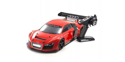 INFERNO GT2 VE RACE SPEC AUDI R8 LMS Red w/KT-331P 1/8 EP(BL) 4WD Readyset RTR 34102