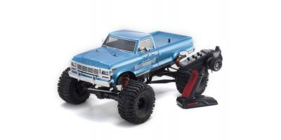 1/8 Scale Radio Control Brushless Motor Powered 4WD Monster Truck MAD CRUSHER VE Readyset 34253