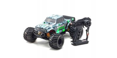 MONSTER TRACKER Color Type 1 w/KT-232P 1/10 EP 2WD Monster Truck Readyset RTR 34403T1
