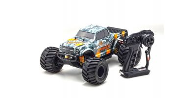 MONSTER TRACKER Color Type 2 w/KT-232P 1/10 EP 2WD Monster Truck Readyset RTR 34403T2