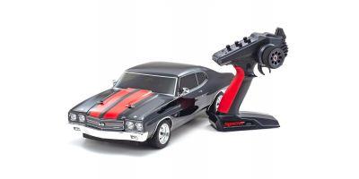 1/10 EP 4WD フェーザーMk2 FZ02L  1970 シボレー シェベル SS™ 454 LS6 タキシードブラック 34416T2