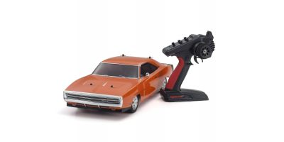 1/10 Scale Radio Controlled Electric Powered 4WD FAZER Mk2 FZ02L Series Readyset Dodge Charger 1970 Hemi Orange 34417T1