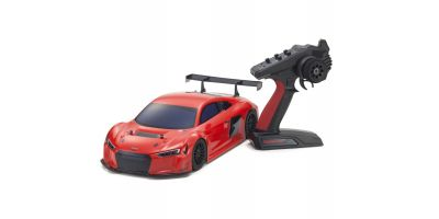 1/10 Scale Radio Controlled Electric Powered 4WD FAZER Mk2 FZ02 Series Readyset Audi R8 LMS 2015 (red) 34422T1