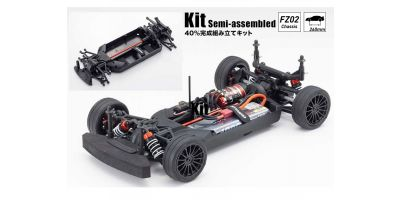 Radio Controlled Electric Powered 4WD Touring Car FAZER Mk2 FZ02 Chassis Kit 34461