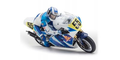 1/8 SCALE EP MOTORCYCLES HANGING ON RACER S.R.T. SUZUKI RGV-Γ 1992 Kit 34931