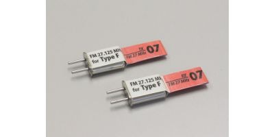 CRYSTAL SET FM27MHz-07BAND (FOR FUTABA) 36210-F07