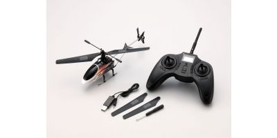 150mmサイズ電動インドアヘリシリーズ ミニインベーダー 150 S4 レディセット 20150