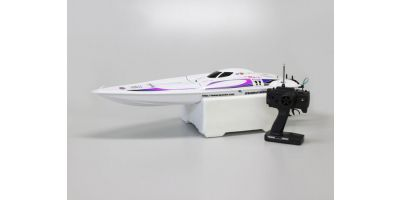 1/20 Scale R/C ELECTRIC POWERED RACING BOAT EP TWINSTORM 800VE Readyset w/o battery & charger 40031VE