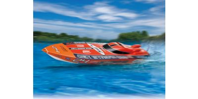 ELECTRIC POWERED RACING BOAT EP JET STREAM 888VE readyset  40232RS