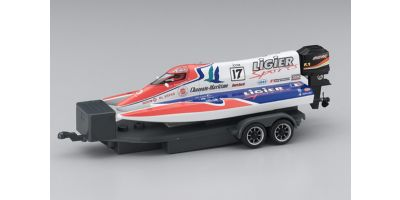 ELECTRIC POWERED MICRO RACING BOAT LIGIER SPORTS No.17  40401LS-17