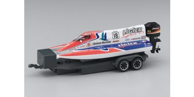 ELECTRIC POWERED MICRO RACING BOAT LIGIER SPORTS No.18  40401LS-18