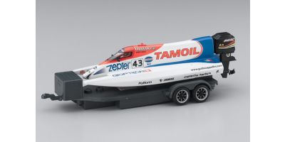 ELECTRIC POWERED MICRO RACING BOAT TAMOIL No.43  40401TM-43