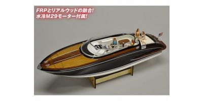EP ウッドボート Y108 人形付半完成  56541