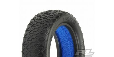 "Micron 2.2""2WD MC(Clay)Buggy FrontTires 612210MC"