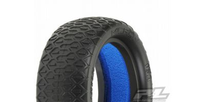 "Micron 2.2""4WD MC(Clay)Buggy FrontTires 612220MC"