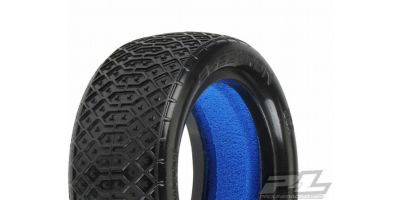 "Electron2.2""4WD(Clay)Buggy FrontTires(2 612228MC"