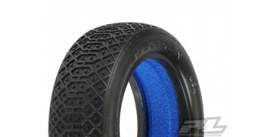 "Electron2.2"" 2WD MC(Clay)Front Tires(2) 612271MC"