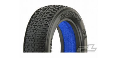 "Transistor2.2""2WD MC(Clay)FrontTires(2) 612272MC"