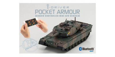ポケットアーマー i-driver 陸上自衛隊 90式戦車 迷彩1 1/60 EP レディセット 69030C