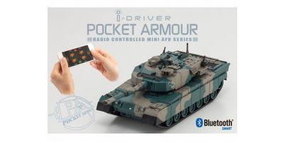 ポケットアーマー i-driver 陸上自衛隊 90式戦車 迷彩2 1/60 EP レディセット 69030G