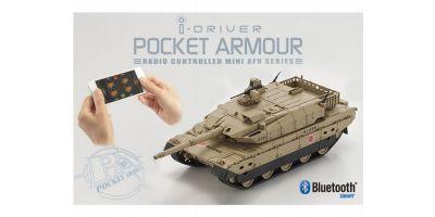 ポケットアーマー i-driver 陸上自衛隊10式戦車 デザートブラウン 1/60 EP レディセット 69040D
