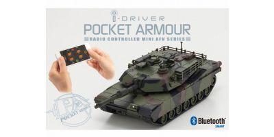 ポケットアーマー i-driver M1A2エイブラムス 迷彩1 1/60 EP レディセット 69050C
