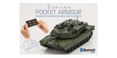 ポケットアーマー i-driver M1A2エイブラムス グリーン 1/60 EP レディセット 69050G