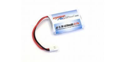 3.7V-420mAh LiPo バッテリー  71813