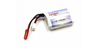 7.4V-420mAh LiPo バッテリー  71814